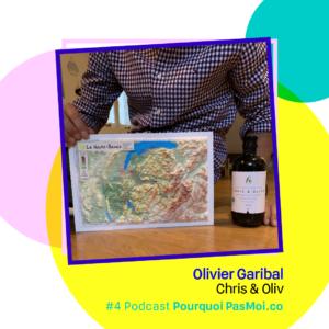podcast Pourquoi pas moi - Olivier Garibal Objets