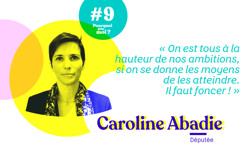 Caroline Abadie Pourquoi pas moi podcast
