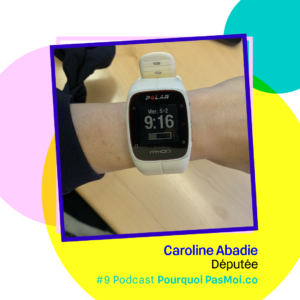 Caroline Abadie Podcast objet