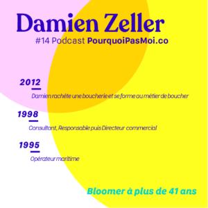 Damien Zeller Parcours