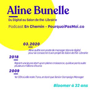 Parcours Aline Bunelle