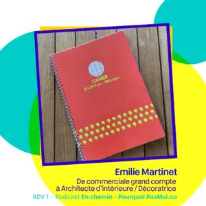 Podcast Emilie Martinet objet