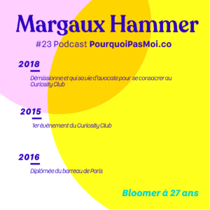 Margaux hammer biographie