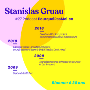 Biographie Stanislas Gruau podcast