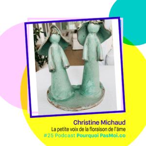 Christine Michaud podcast objet