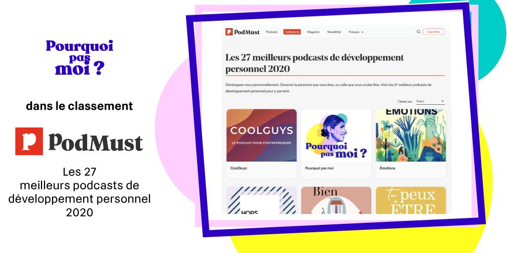 classement meilleur podcast développement personnel