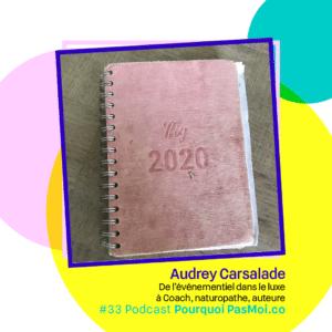 objet Audrey Carsalade podcast