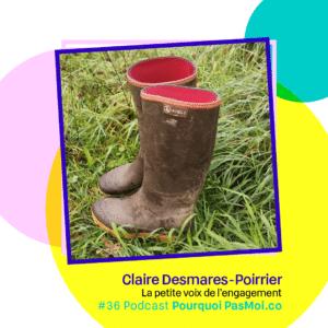 objet Claire Desmares Poirrier podcast